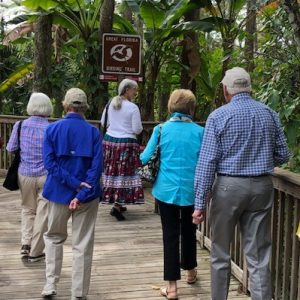 Residents partake on mile bpardwalk