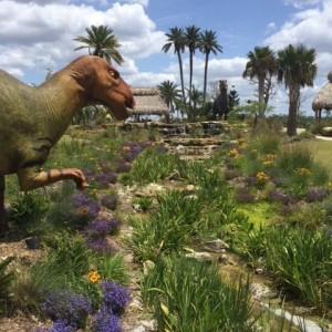 Dinosaur in the desert