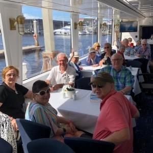 Senior living residents on cruise