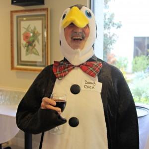 Senior living penguin
