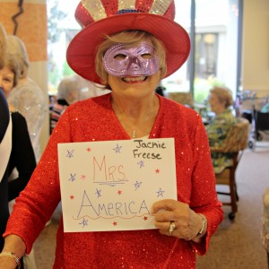 Assisted living resident miss america