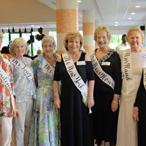 Senior living residents dress up as miss america contestants