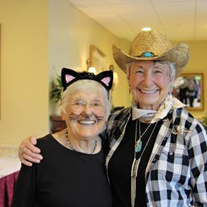 Senior living community halloween party 2017