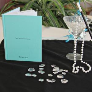 Breakfast at Tiffanys blue book