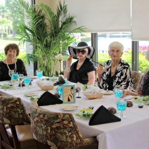 Ladies enjoy lunch