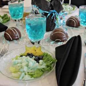 Tiffany's themed luncheon
