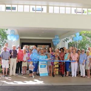Group of seniors gather for celebration