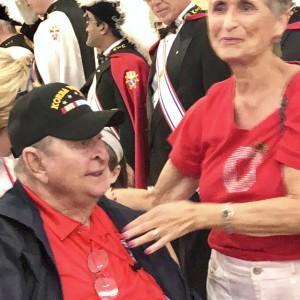 Senior Living Comnuity celebrates veteran