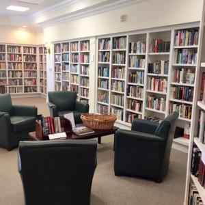 Senior living community library