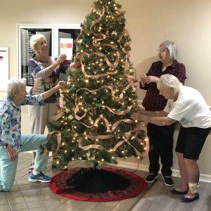 Arbor Trace Christmas tree