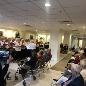Senior living christmas program