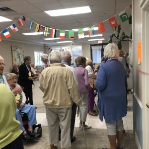 Arbor Trace Residents compete