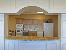 Kitchen in Tower Pointe at Arbor Trace