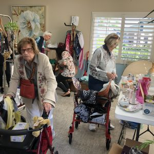 senior ladies shop at stuff sale