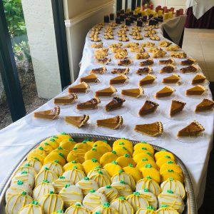 Dessert table at Arbor Trace