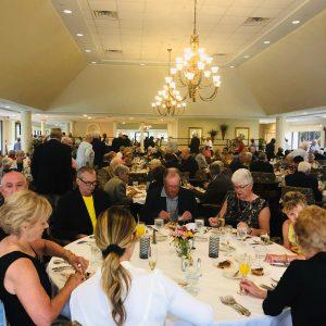 Senior living residents invite family to buffet