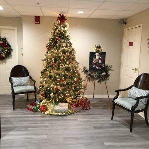 Senior living Christmas tree