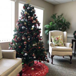 Third floor Christmas tree