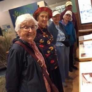 Seniors enjoying time at nature center