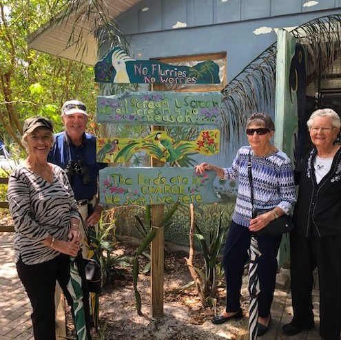 Arbor Trace residents go on outing