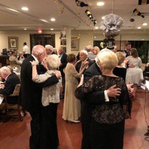 Arbor Trace residents on dance floor