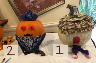 Arbor trace pumpkin carving contest