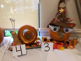 pumpkin contest at Arbor Trace