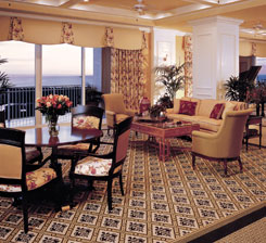 Senior Living Facility Lobby