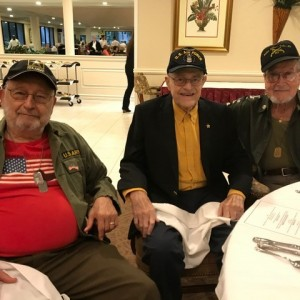 Three men who are veterans