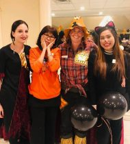 Arbor Trace staff ready for Halloween